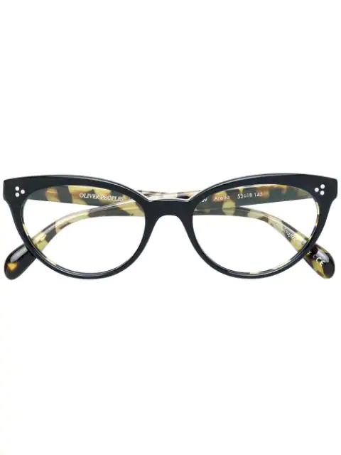 Oliver Peoples Arella Glasses In Black