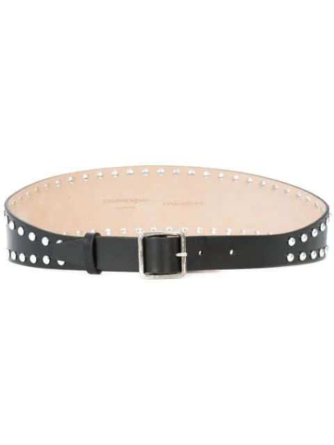 f8543dbb55 Alexander Mcqueen Studded Belt - Black
