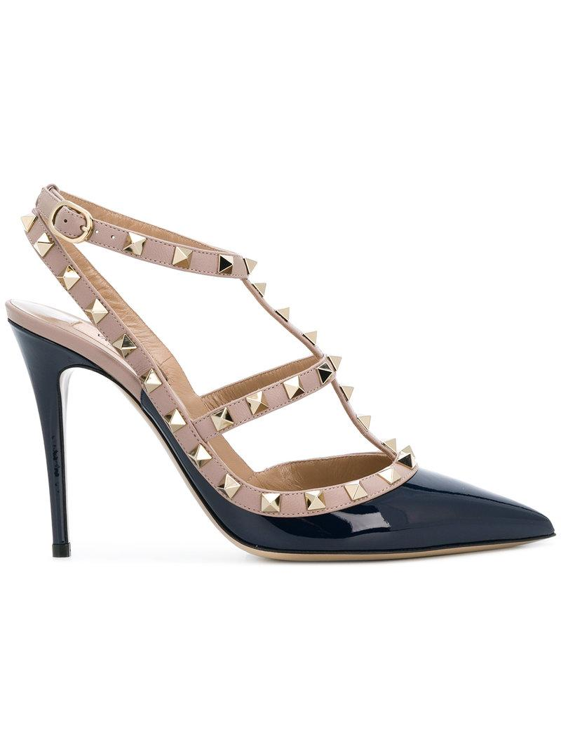 b0cf96c7db5 ... feature an ankle strap with a side buckle fastening