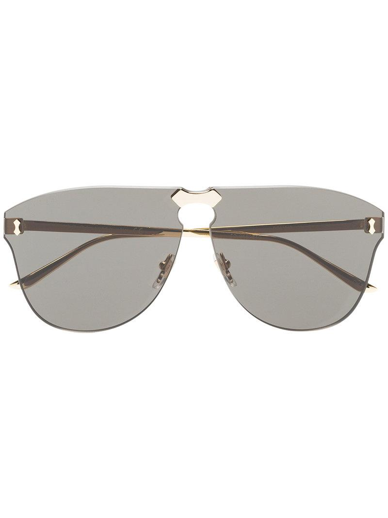 Gucci Metallic Aviator