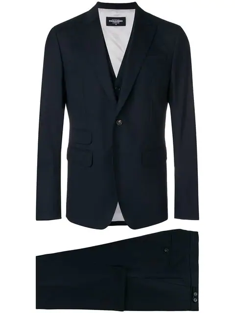 Dsquared2 Formal Two In Blue
