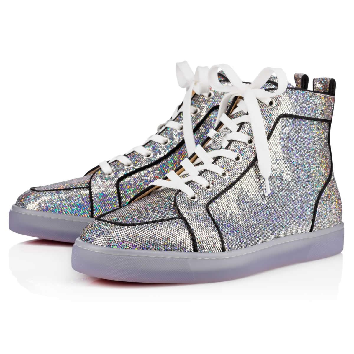 04b96f2916d Christian Louboutin Rantus Orlato Flat Multi Glitter Disco Ball - Men Shoes  - In Multicolor