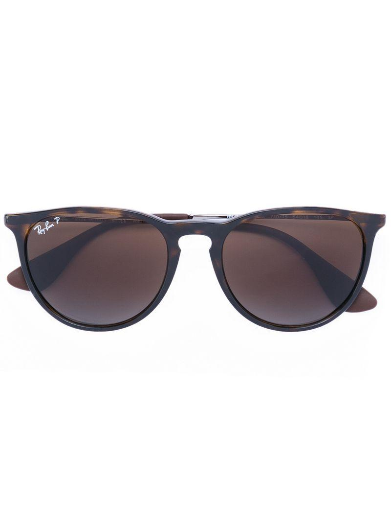 Ray Ban Ray-ban Round Lens Sunglasses - Brown