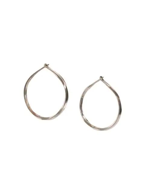 Werkstatt:münchen Small Hoop Earrings In Metallic