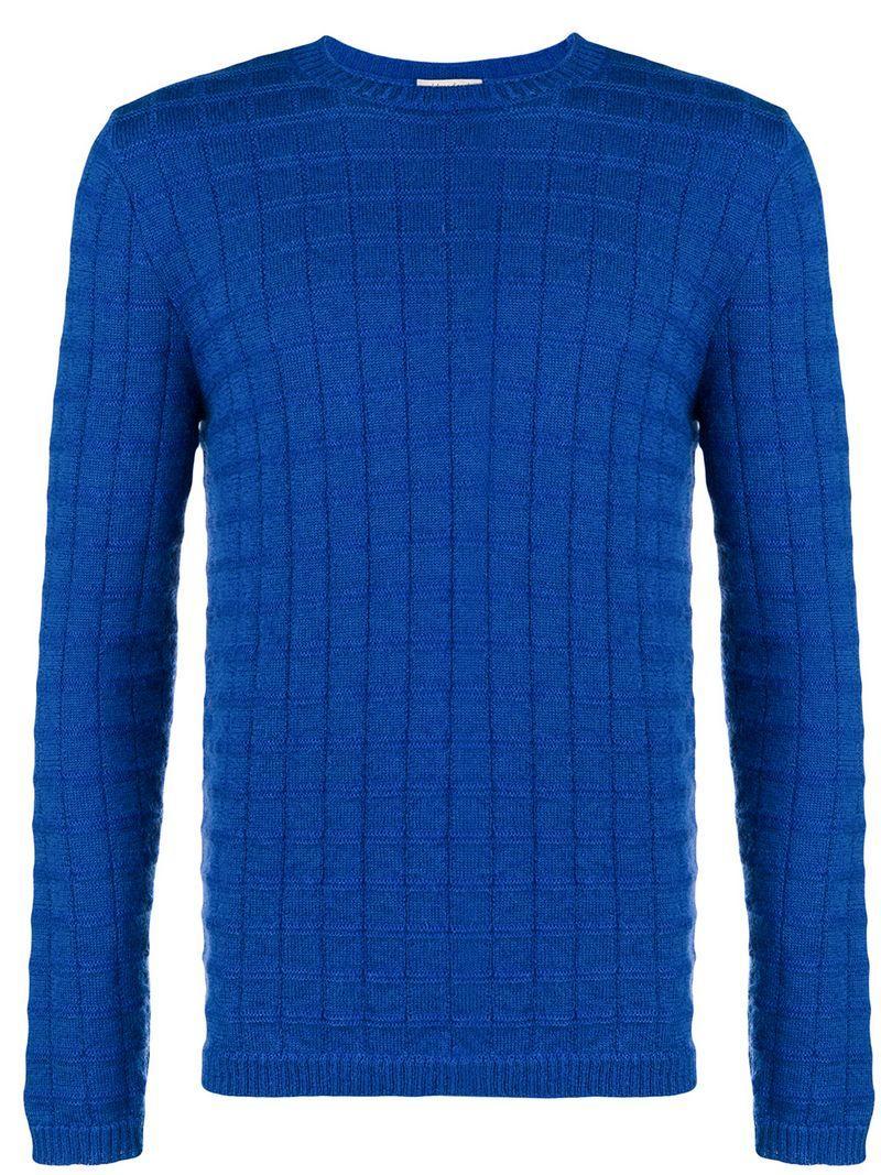 e6b09d2399 Al Duca D Aosta Al Duca D Aosta 1902 Textured Crew Neck Sweater ...