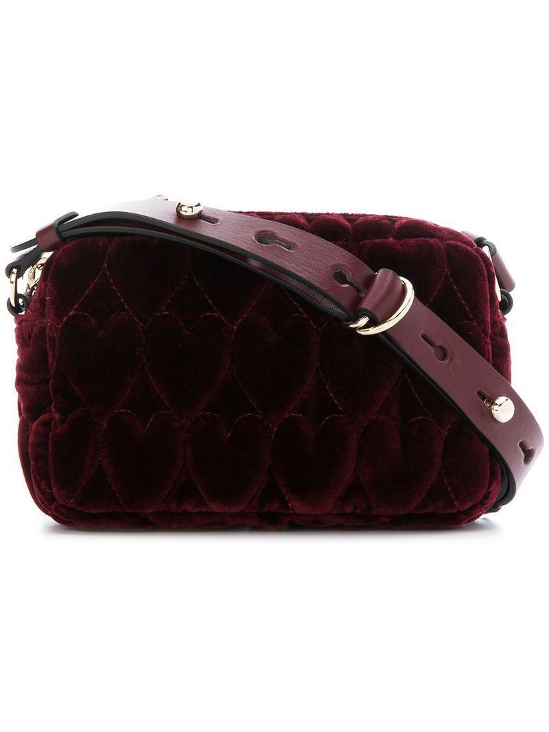05adb1ef Red V Bag