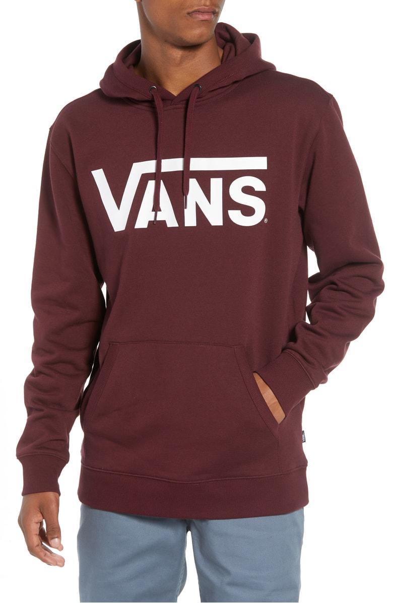46384a32ab Vans Classic Hoodie Sweatshirt In Pink