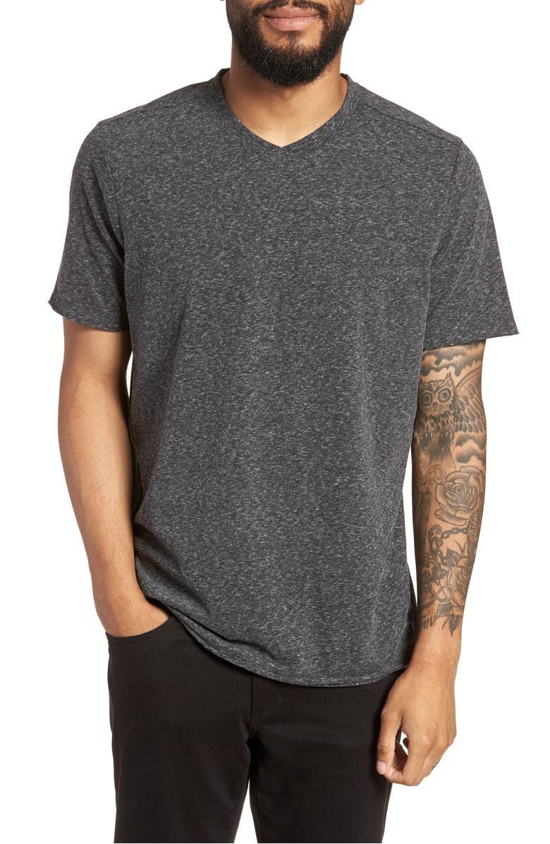 0170eb42b8c7a Good Man Brand Slim Fit V-Neck T-Shirt In Charcoal Heather | ModeSens