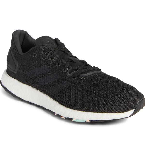 52a5edc98 Adidas Originals Pureboost Dpr Running Shoe In Black  Grey Five  Solid Grey