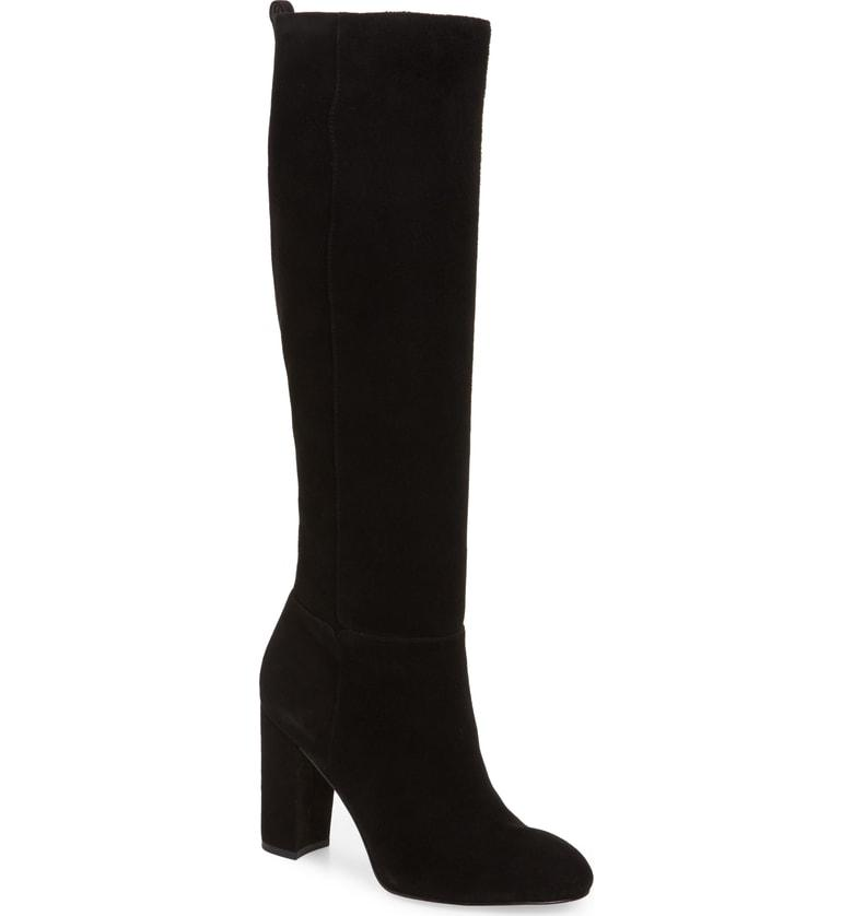 a0bdf9e4c41d Sam Edelman Caprice Knee-High Boot In Black Suede