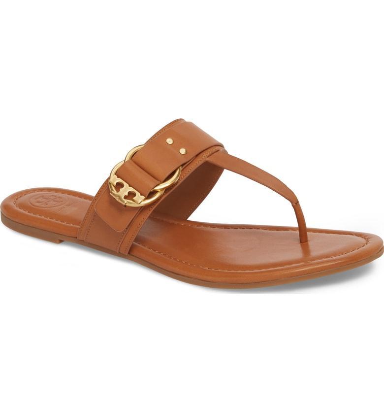 c1652cd0ff5ca6 Tory Burch Marsden Flat Thong Sandal In Tan