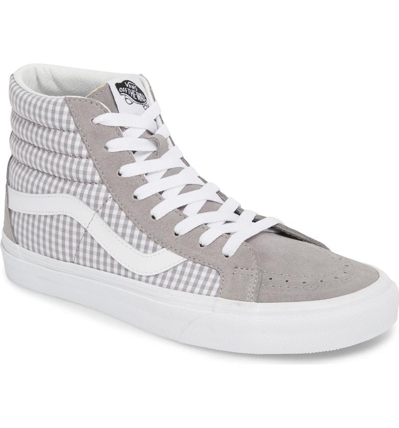 bc6bd1d9a4 Vans  Sk8-Hi Reissue  Sneaker In Titanium  True White