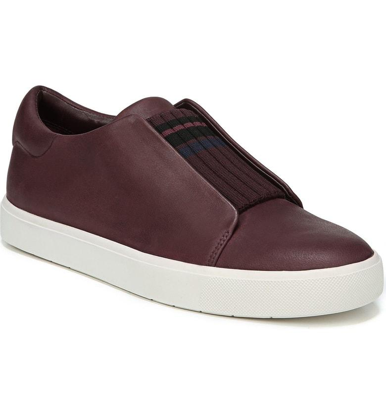 Vince Cantara Slip-On Sneaker In Bordo/ Rose