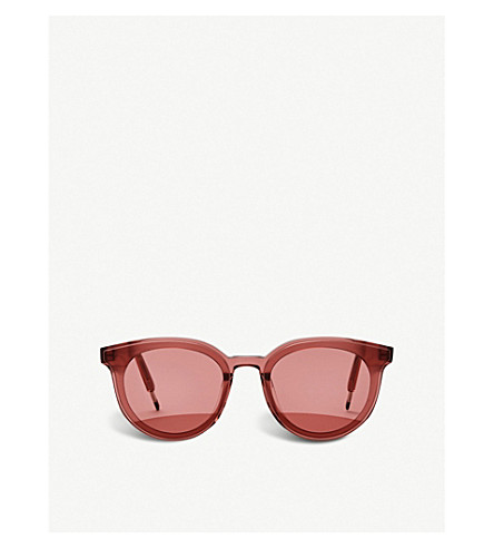 Gentle Monster Seesaw Acetate Sunglasses In Red