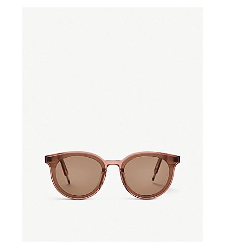 Gentle Monster Seesaw Acetate Sunglasses In Brown