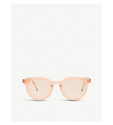 Gentle Monster Seesaw Acetate Sunglasses In Pale Pink