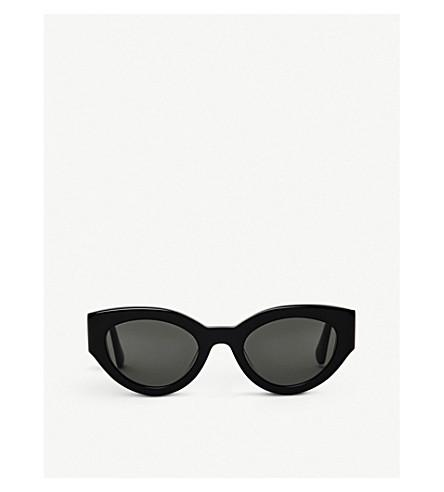 Gentle Monster Tazi Acetate Sunglasses In Black
