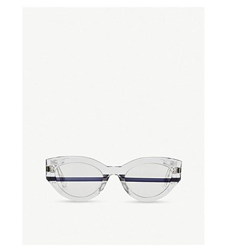 8733ec5d17 Gentle Monster Tazi Acetate Sunglasses In Clear Black