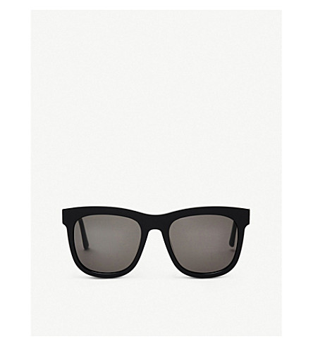 Gentle Monster Pulp Fiction Acetate Sunglasses In Black Blue