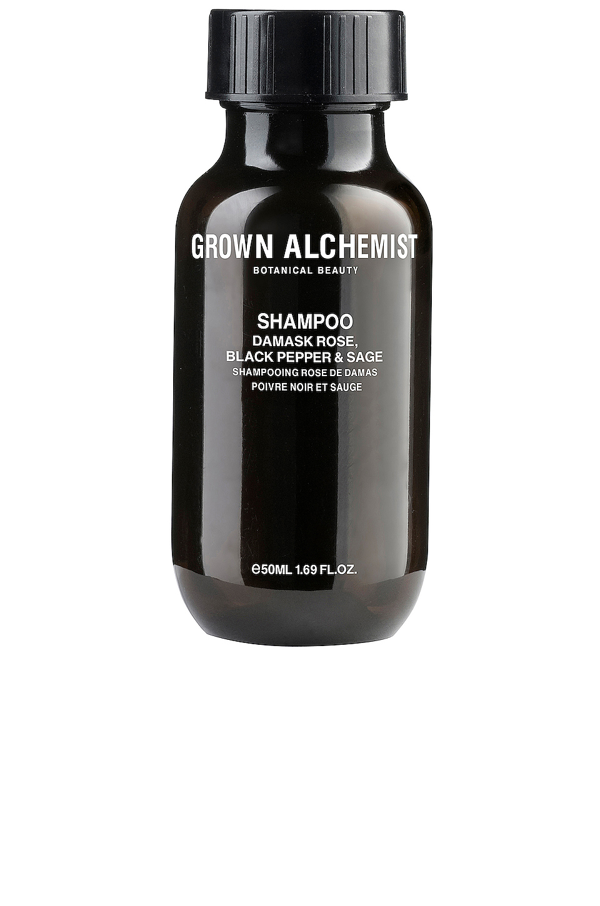 Grown Alchemist Travel Shampoo Damask Rose & Black Pepper & Sage In N,a