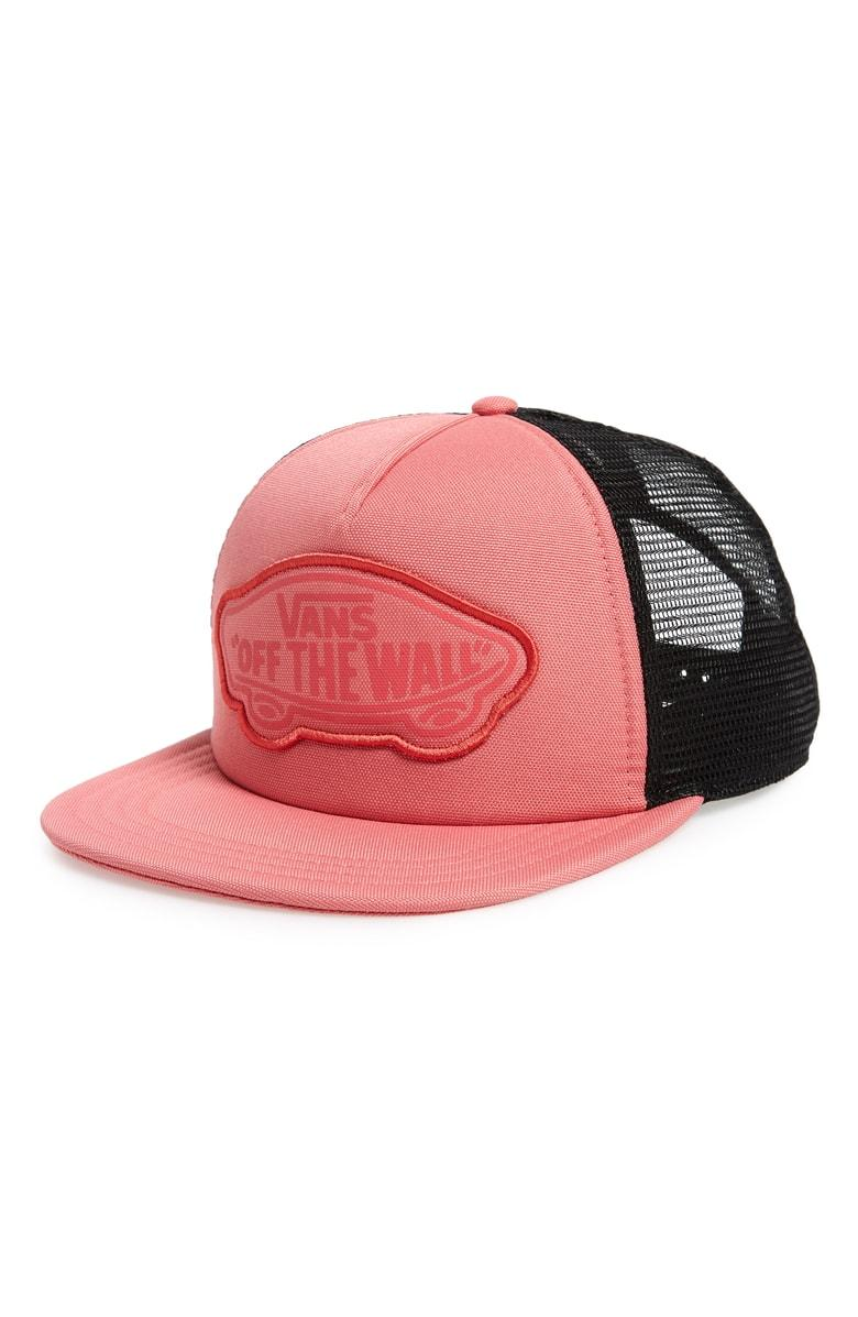 8cd6c4ef1621 Vans Beach Girl Trucker Hat - Black In Desert Rose