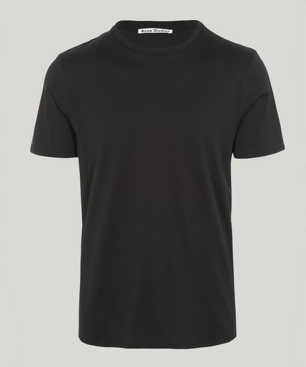 Acne Studios Measure Basic Cotton T-shirt In Black