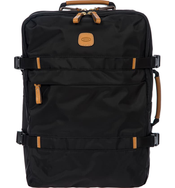 Bric's X-travel Montagna Travel Backpack In Black
