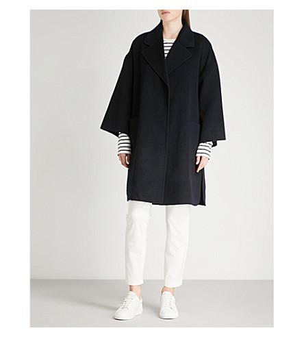 36fcd6517ed Theory Wool And Cashmere-Blend Coat In Nocturne | ModeSens