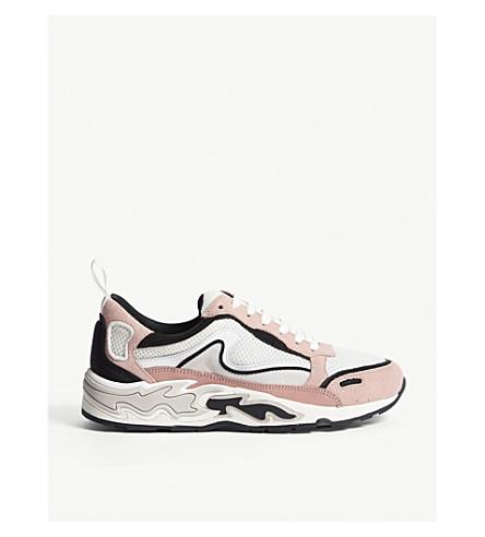 fe588f9904 Sandro Flame H-17 Trainers In Vieux Rose