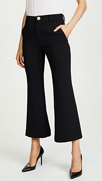 Laveer Cropped Annie Trousers In Black