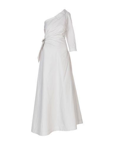 Sara Roka Long Dress In Light Grey