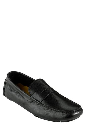 48063ea1572 Cole Haan  Howland  Penny Loafer In Black Tumbled. Nordstrom