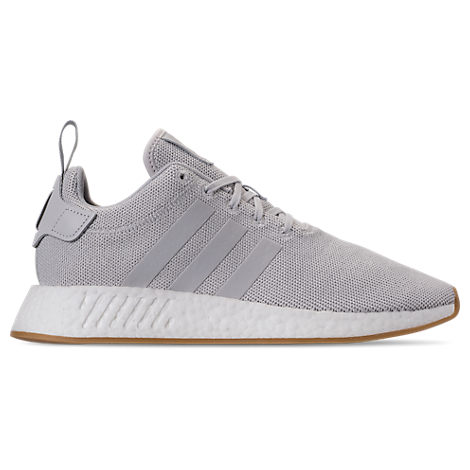 online retailer 3dd30 5f8cd Adidas Men's Nmd R2 Casual Sneakers From Finish Line in Grey One/Grey  Two/Solar S