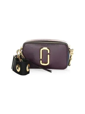 99c7fe93c Marc Jacobs Snapshot Buttons Crossbody Camera Bag In Grape Multi ...