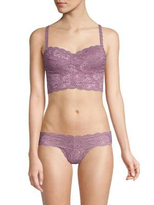 d0252e9eb79ce Cosabella Never Say Never Curvy Sweetie Soft Bra (Larger Cup) In Grape