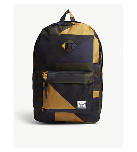 f2b9bb262a Herschel Supply Co Heritage Geometric-Print Backpack In Arrowwood Frontier  Geo
