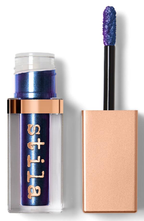 Stila Shimmer & Glow Liquid Eye Shadow Vivid Sapphire 0.153 oz