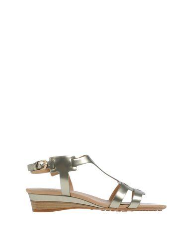Tod's Sandals In Platinum
