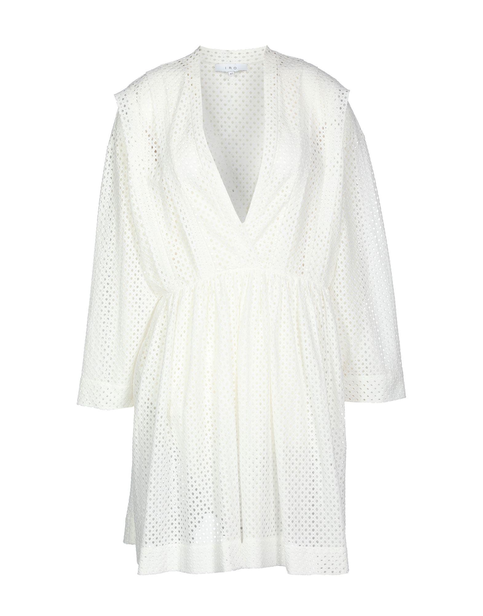 Iro Short Dress In White