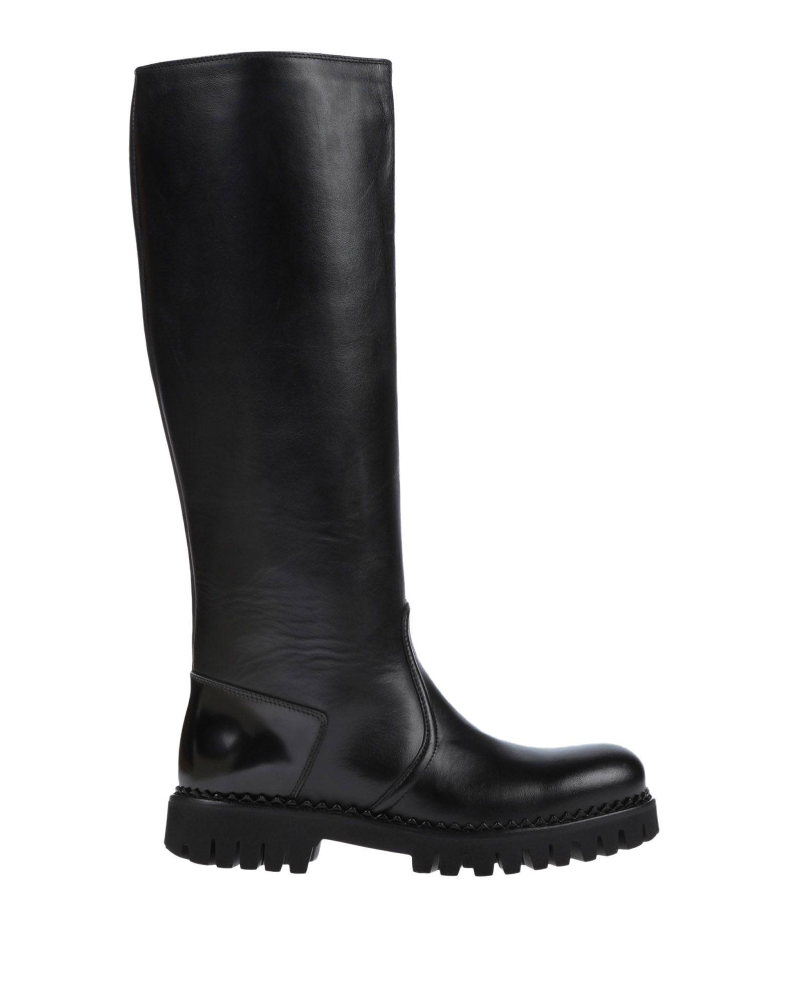 John Galliano Boots In Black