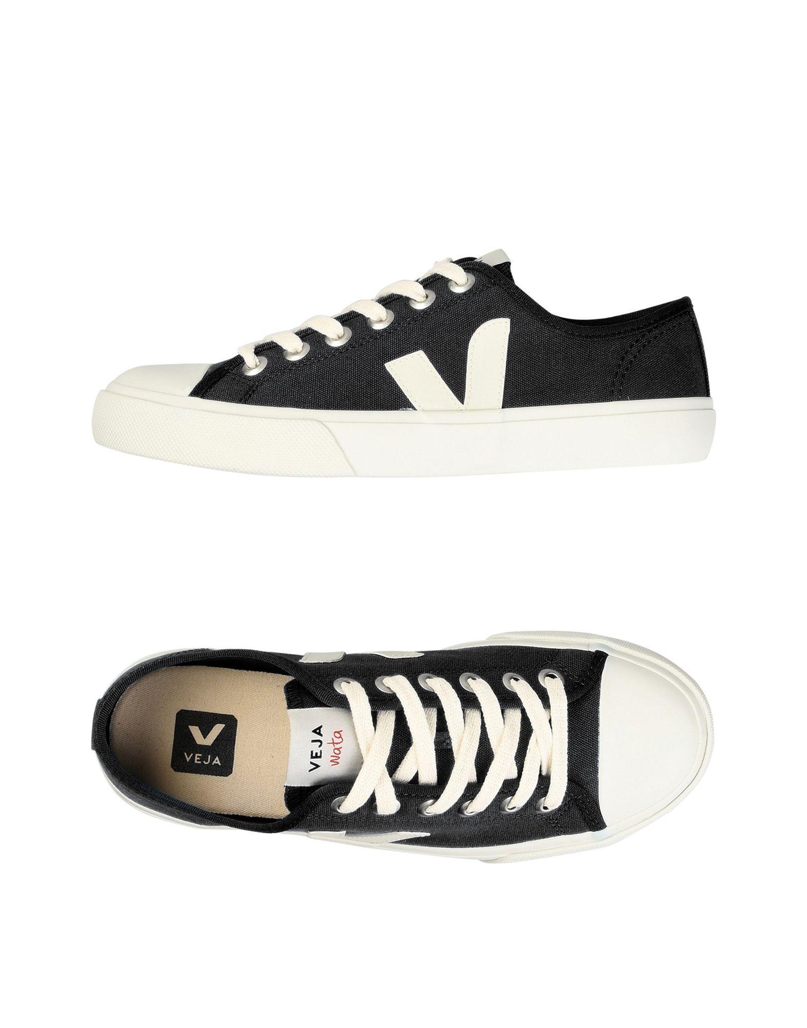 Veja Noca Canvas Sneakers In Black