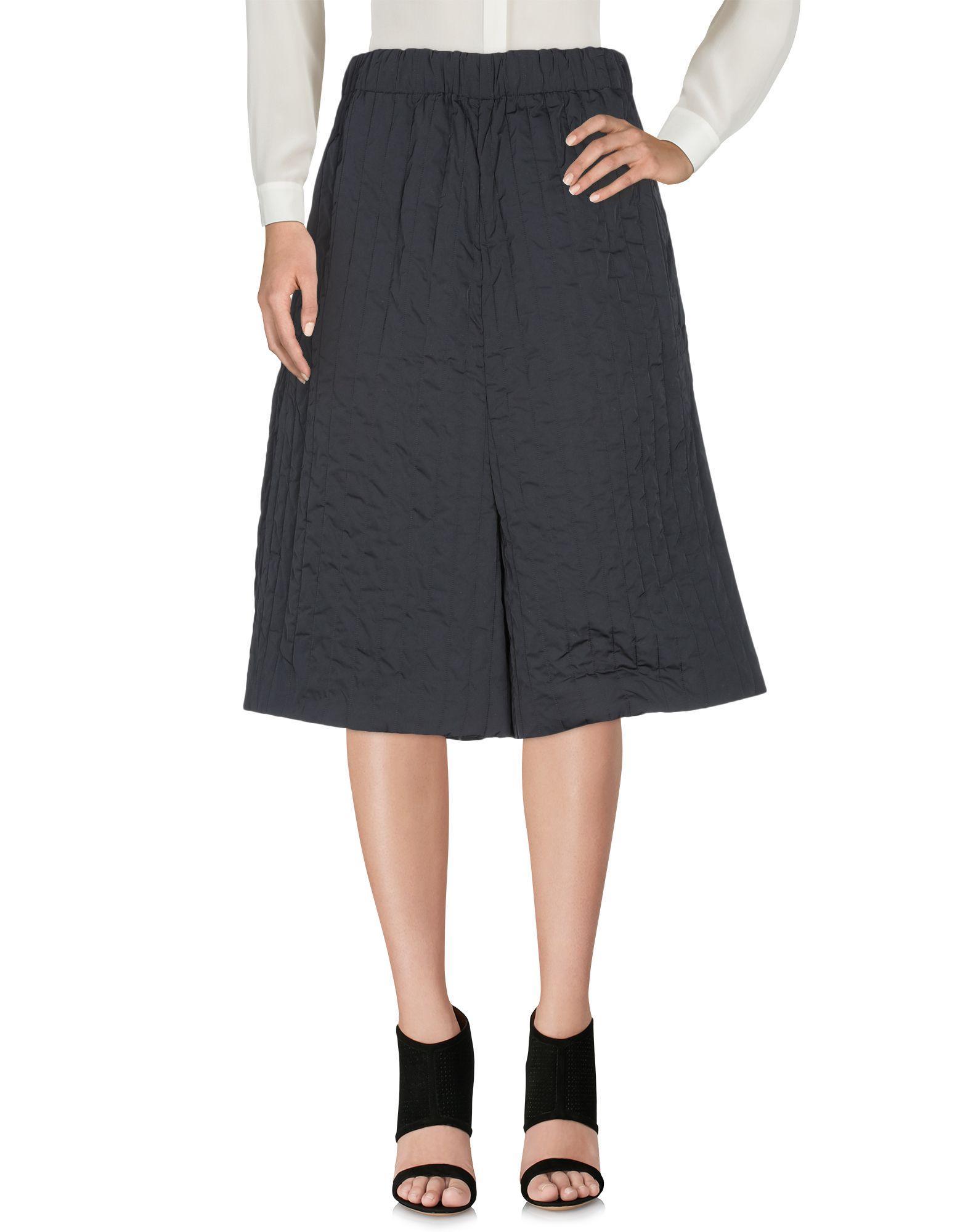 Jil Sander 3/4-Length Shorts In Black