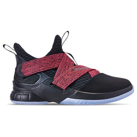 newest e3d8d 7cef6 Nike Boys  Grade School Lebron Soldier 12 Basketball Shoes, Black