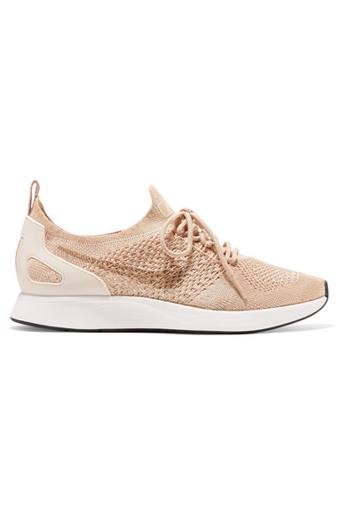 premium selection f4a83 9a764 NIKE. Women s Air Zoom Mariah Fk Racer Knit Lace Up Sneakers ...