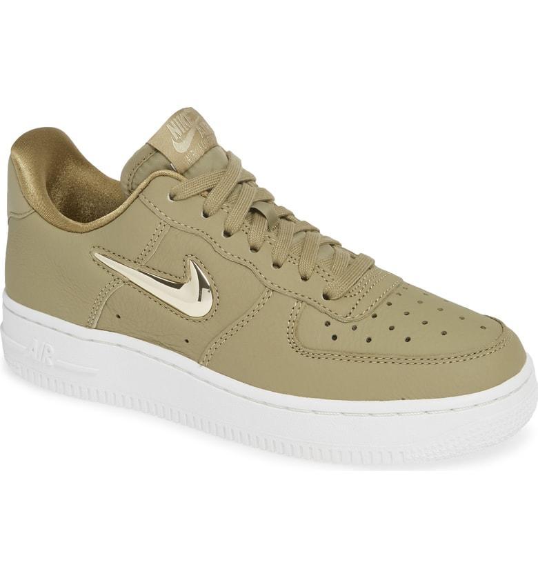 8137260f567ef Nike Women's Air Force 1 '07 Premium Lx Casual Shoes, Green   ModeSens