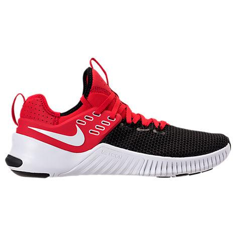 27c1b8ea2a3b Nike Men s Free Metcon Training Sneakers From Finish Line In Red ...