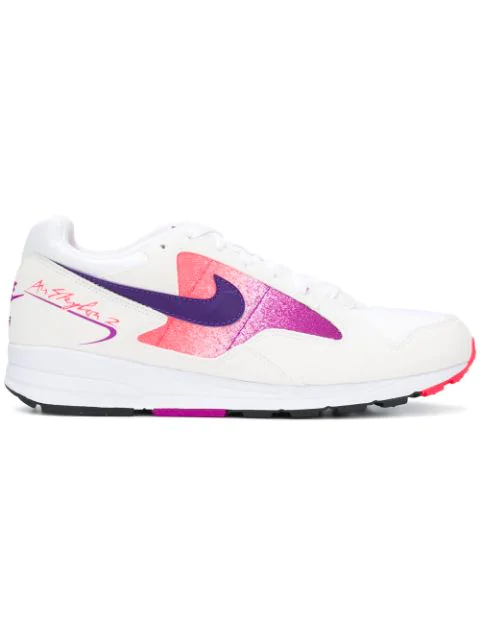 Nike Air Skylon Ii Sneakers In White In 103 White Court Purple Solar Red