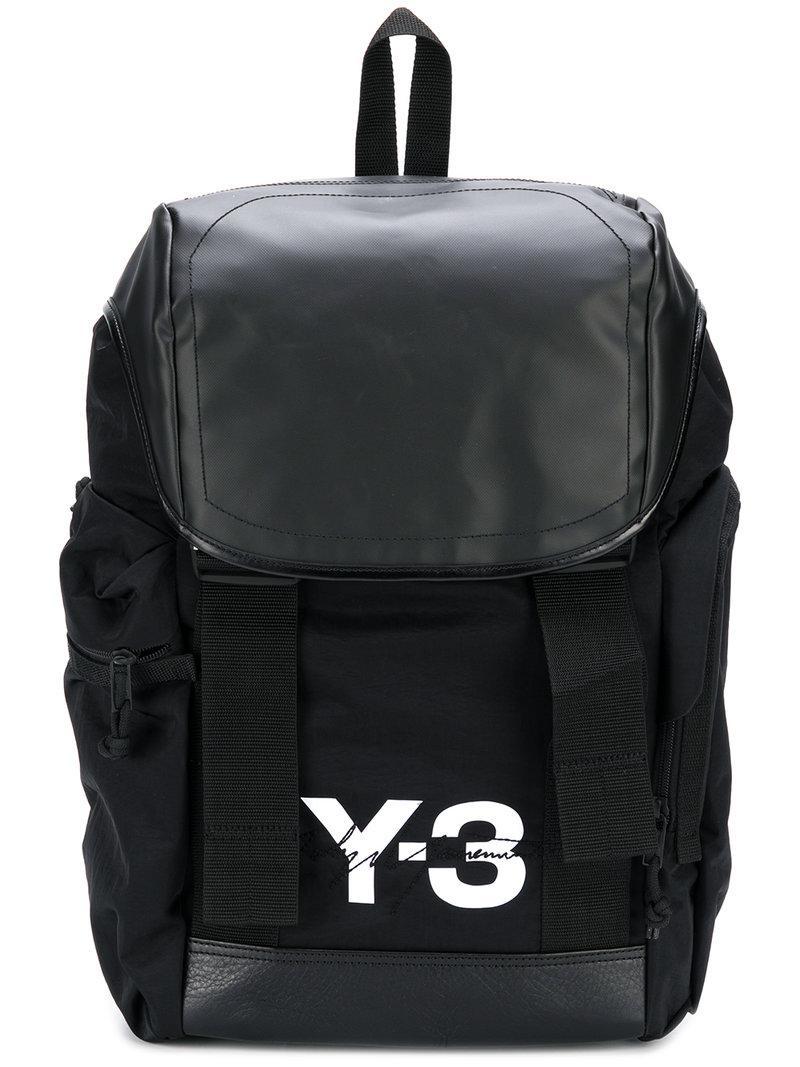 d4e98f9b5f42 Y-3 Yohji Yamamoto Mobility Backpack In Black