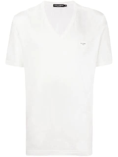 3667e4b17194 Dolce & Gabbana Dg Logo T-Shirt - Black | ModeSens