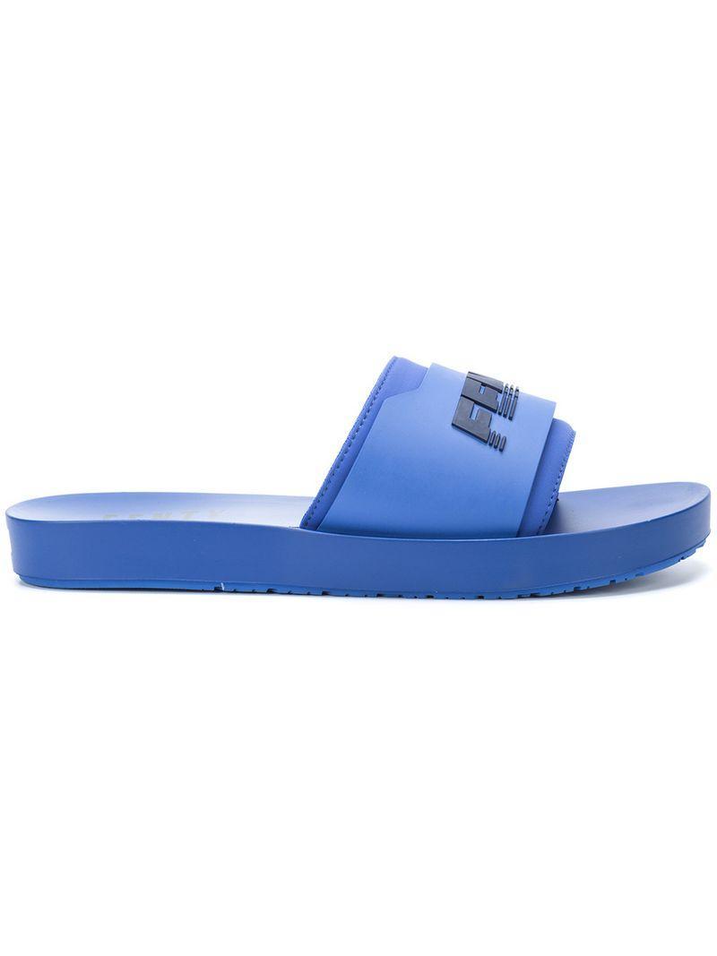 f8b23d9075c5 Fenty X Puma Surf Slides - Blue